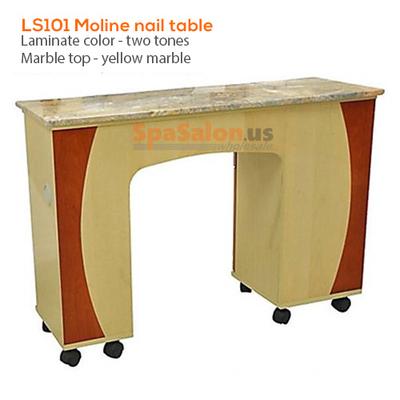 LS101 Moline nail table