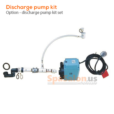 Discharge pump kit